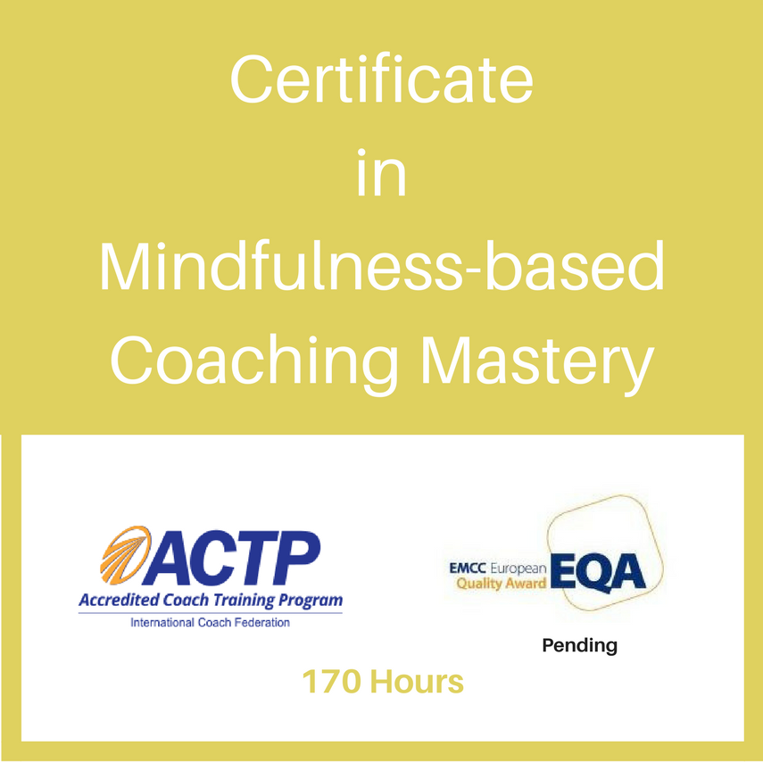 Certificate In Mindfulness Based Coaching Mastery Transcend