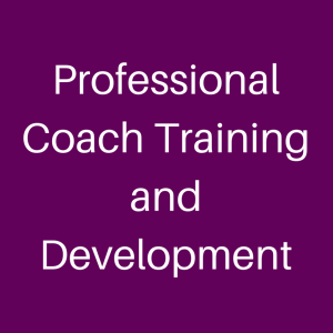 Professional Coach Training and Development