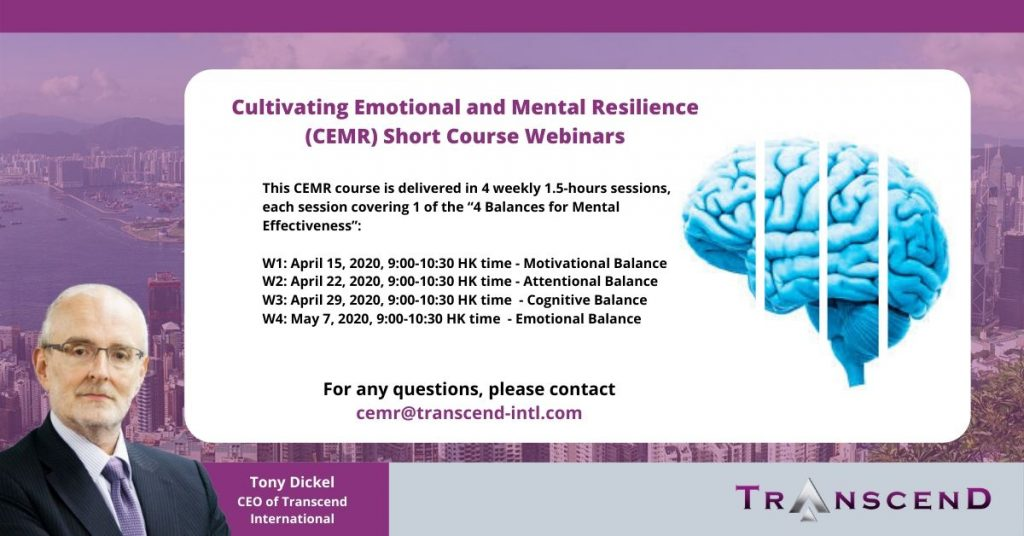 cultivating emotional and mental resilience cemr